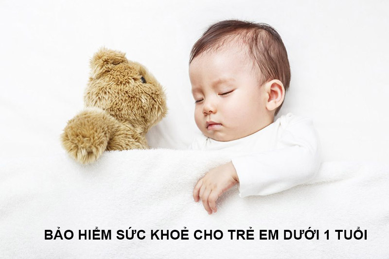 bảo hiểm sức khỏe cho trẻ em dưới 1 tuổi